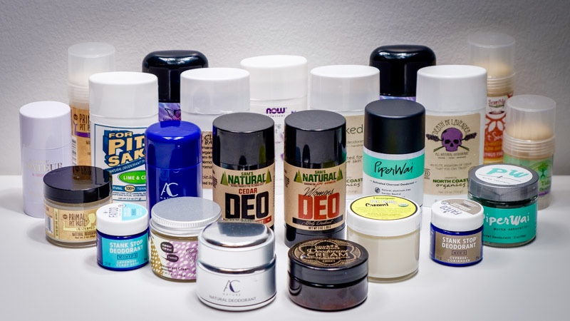 All-Natural Deodorant Research